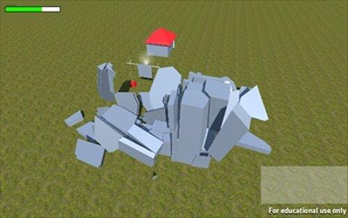 建物壊してドンジャラホイ Game Screen Shot3