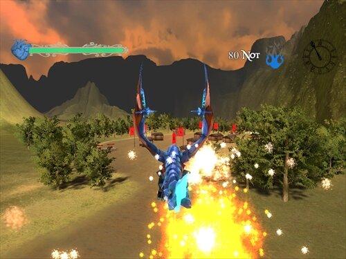 DragonAvenger Game Screen Shot1