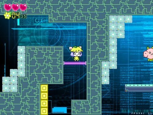 U〃ゅぇゑ£`⊂レ)→£ヽ Game Screen Shot1