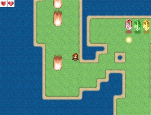 エレナの冒険(仮) Game Screen Shot