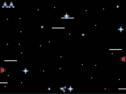 コスモガンナー Game Screen Shot1