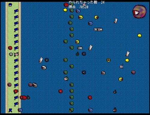 めだま戦争! Game Screen Shot3