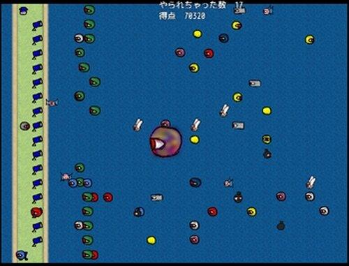 めだま戦争! Game Screen Shots