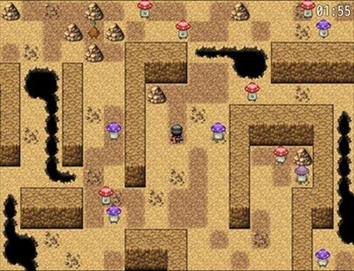 キノコ探しゲー Game Screen Shot2