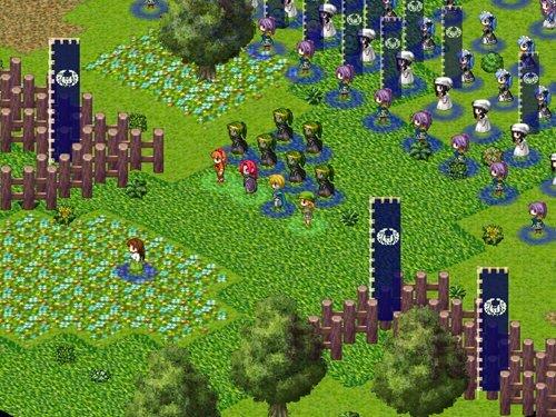 アストゥール戦記 Game Screen Shot1
