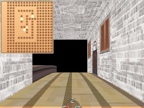 ウディタで3Dランダムダンジョン トカゲの冒険者 Game Screen Shot2