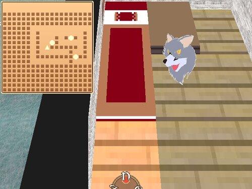 ウディタで3Dランダムダンジョン トカゲの冒険者 Game Screen Shot5