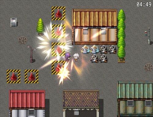 あばれるばぁさん Game Screen Shot1