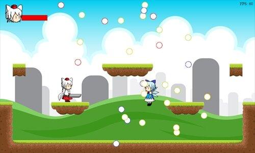 もみじの大冒険 Game Screen Shot1