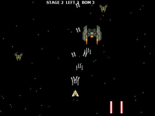 マウスシューティング Game Screen Shot1