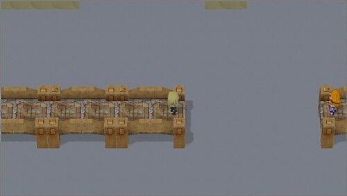 『ーソロの伝説ー 白土のポセイドン』 Game Screen Shot1