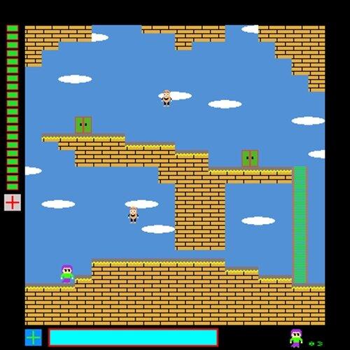 魔法少女は6度目の旅に出る(32bit版) Game Screen Shot