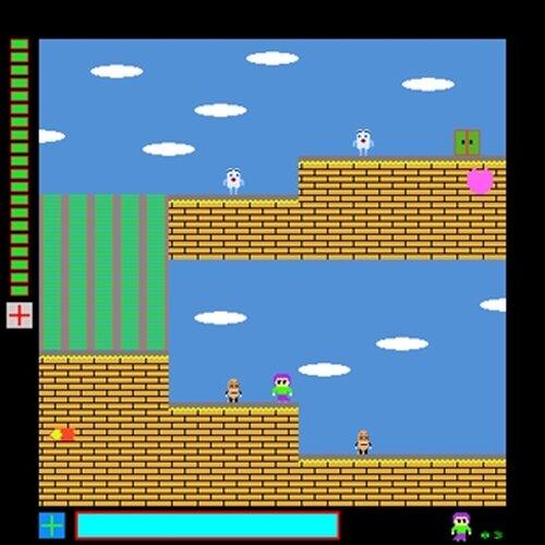 魔法少女は6度目の旅に出る(32bit版) Game Screen Shot4