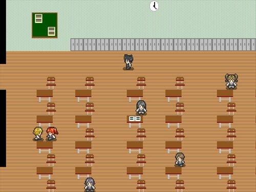 家に辿り着くまでが下校です。 Game Screen Shot