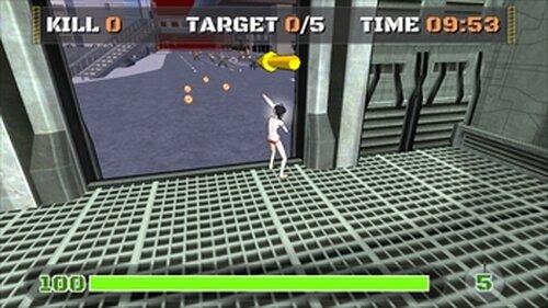 ろめ子 オブ ザ デッド Game Screen Shot3