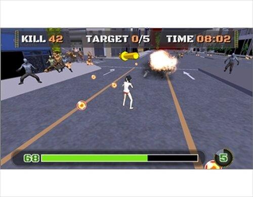 ろめ子 オブ ザ デッド Game Screen Shots