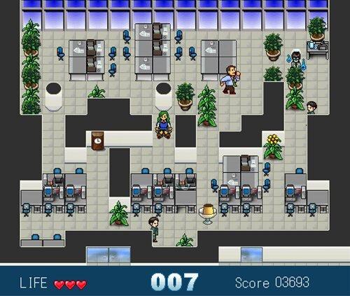 社内革命 お茶くみでチャ!!(初心者用) Game Screen Shot1
