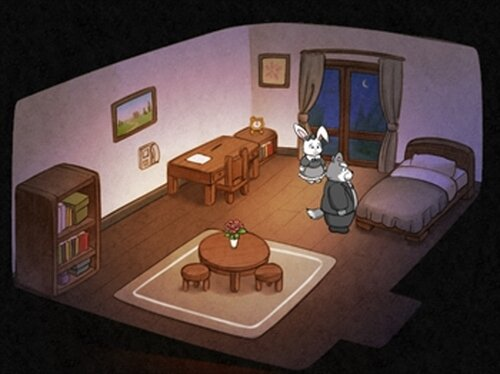 Sebastian and Little lady Game Screen Shot3