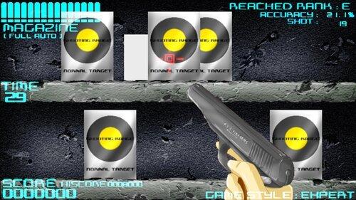 シューティングレンジ(win版) Game Screen Shot1