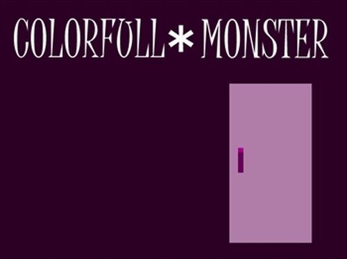 COLOR FULL*MONSTER Game Screen Shots