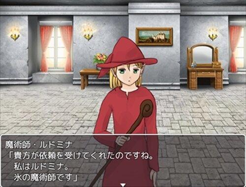 閃光の勇者達 Game Screen Shot4