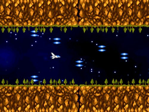 意味もなくレーザーを避け続けるゲーム Game Screen Shot1