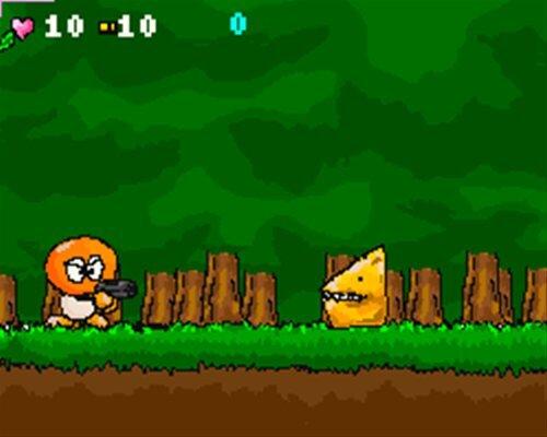 チョビクライシス Game Screen Shot1