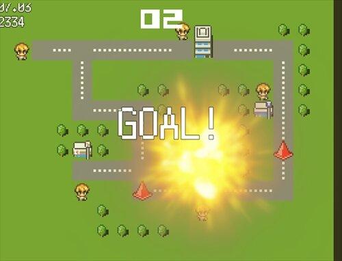 コウレイシャ、子をはねる Game Screen Shot1
