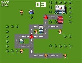 コウレイシャ、子をはねる Game Screen Shot3