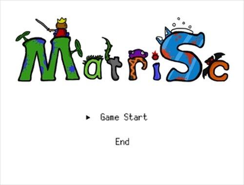 MatriSc Game Screen Shots