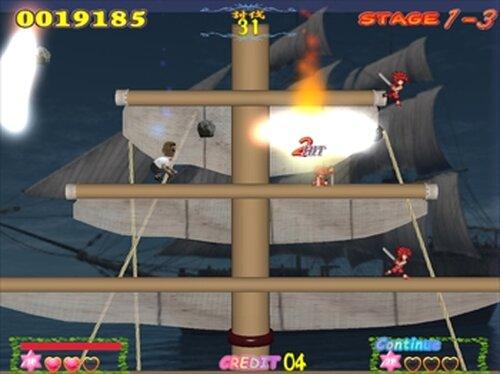 放屁戦記 Game Screen Shots