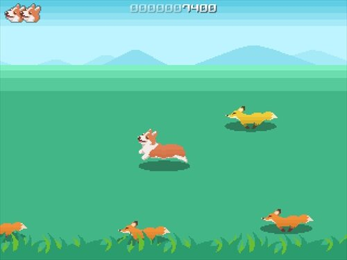 CORGI JUMP Game Screen Shot