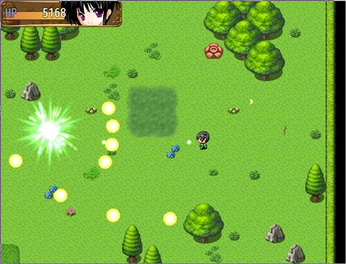 あかずきん殿 Game Screen Shot1