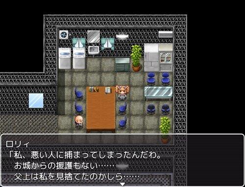 イロスマRPGの作者がブラウザゲームを作ってみた Game Screen Shot1