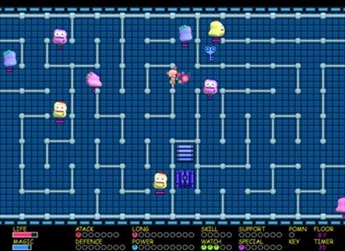 魔法少女ポムポムン Game Screen Shot3