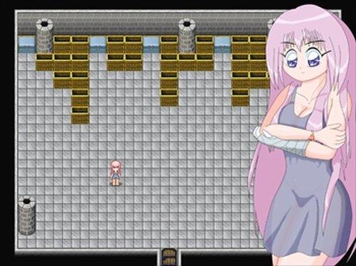 太陽の天使サン・トリニティ 悪の組織に囚われたヒロインが脱出を試みる、全裸で Game Screen Shot3