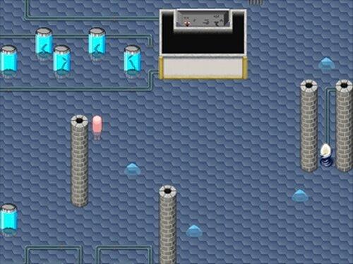 太陽の天使サン・トリニティ 悪の組織に囚われたヒロインが脱出を試みる、全裸で Game Screen Shot4