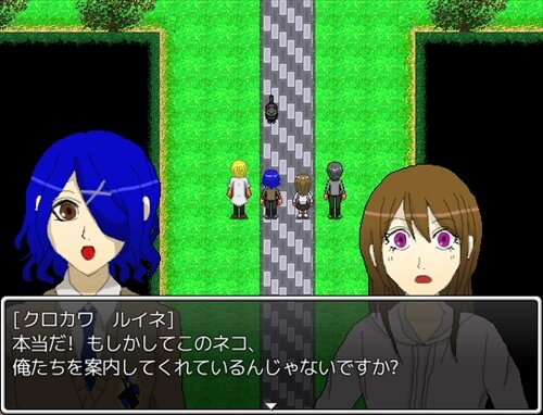 報道部活動日誌(メディアブカツドウニッシ)~九ツ池編~ Game Screen Shot1