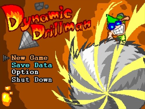 Dynamic Drillman(ダイナミックドリルマン)ver1.01 Game Screen Shot1