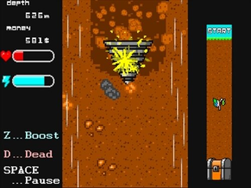 Dynamic Drillman(ダイナミックドリルマン)ver1.01 Game Screen Shot3