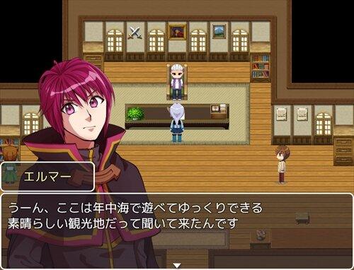 カチコチリゾート Game Screen Shot1
