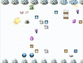 ピチの雪山ランニング - ぼうけんのほし外伝 Game Screen Shot4