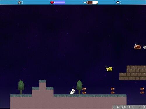 光を失うおゆきはハンバーグを食う~ゆきにゃんとらいある~ Game Screen Shot1