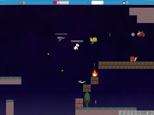 光を失うおゆきはハンバーグを食う~ゆきにゃんとらいある~ Game Screen Shots