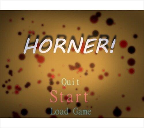 HORNER! Game Screen Shots