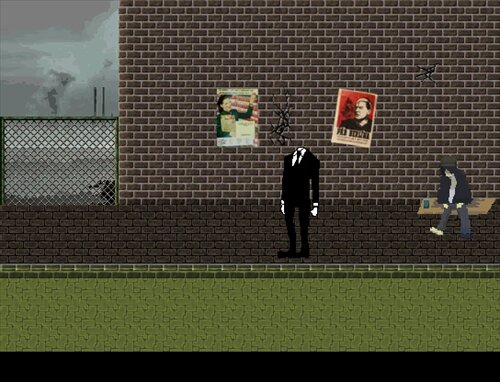 Black ink crow Game Screen Shot1