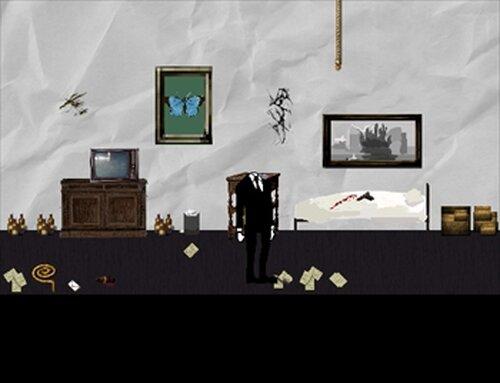Black ink crow Game Screen Shot2