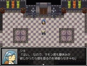 召喚士見習い達と英霊の塔 Game Screen Shot2