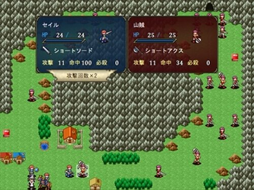 Strange Battlers Game Screen Shot2