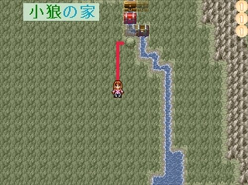 さくらと小狼のRPG Game Screen Shot3